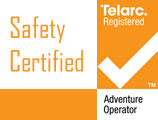 Telarc accredited adventure Tourism Activity